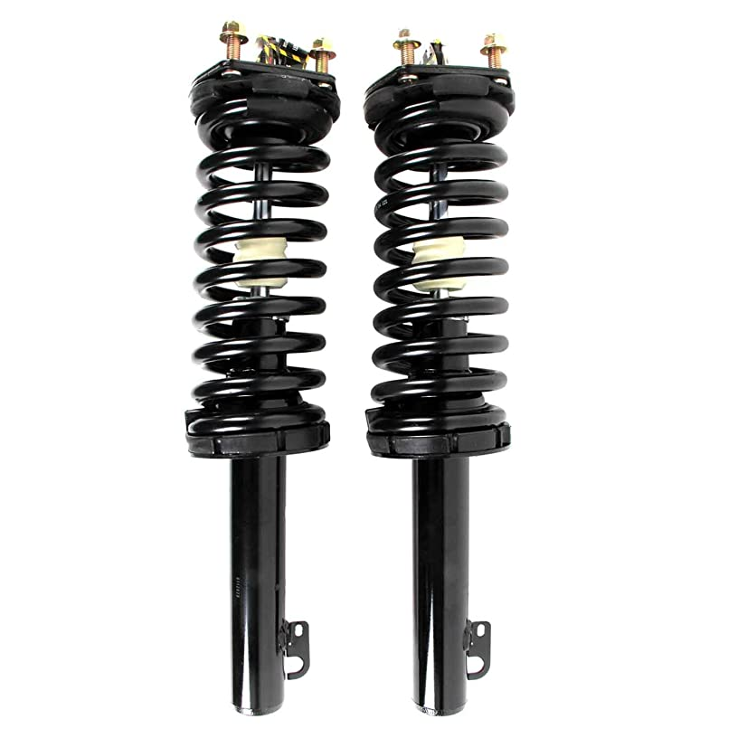 MOTORMAN Front Left & Right Complete Strut and Coil Spring Assembly 171377L & 171377R for 2005 2006 2007 2008 2009 2010 Jeep Grand Cherokee 2006 2007 2008 2009 2010 Commander