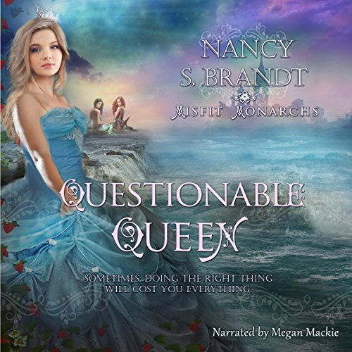 The Questionable Queen audiobook cover art