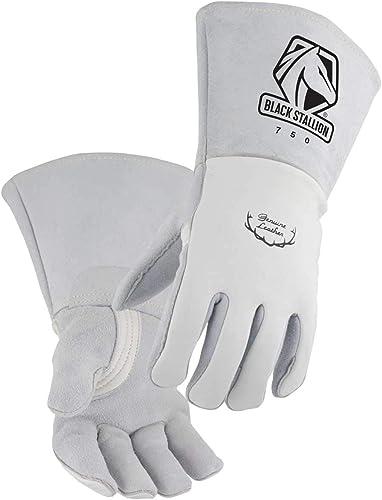 new arrival Premium Grain Elkskin Stick sale Welding Gloves - Nomex Backing, online Size X-Large online