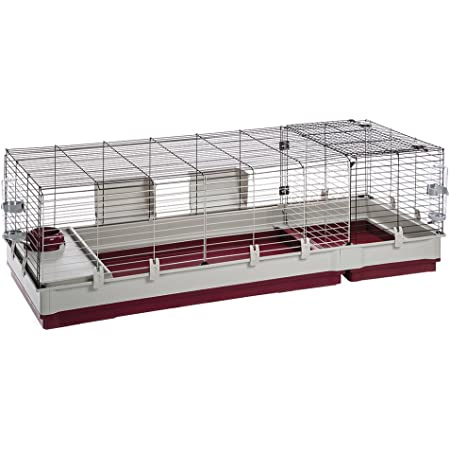 Krolik XXL Rabbit Cage w/Wire Extenstion | Rabbit Cage Includes All Accessories & Measures