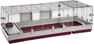 Krolik XXL Rabbit Cage w/Wire Extenstion | Rabbit Cage Includes All Accessories & Measures