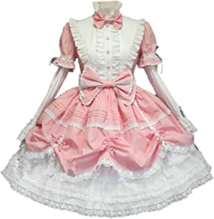 Cos store French Lolita Maid Princess Dress Halloween Costumes Anime Party Costumes For Womens With Petticoat