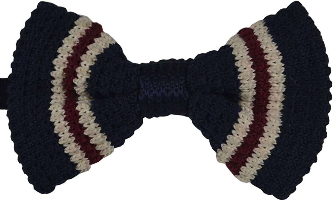 SYAYA Boy's Knit Bow Tie, Vintage Fashion Woven Pre Tied for Kids CLJ09 (3)