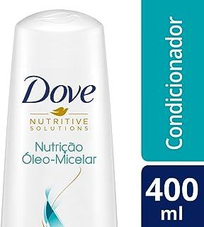 Condicionador Dove Nutrição Óleo Micelar 400 ML, Dove, Branco