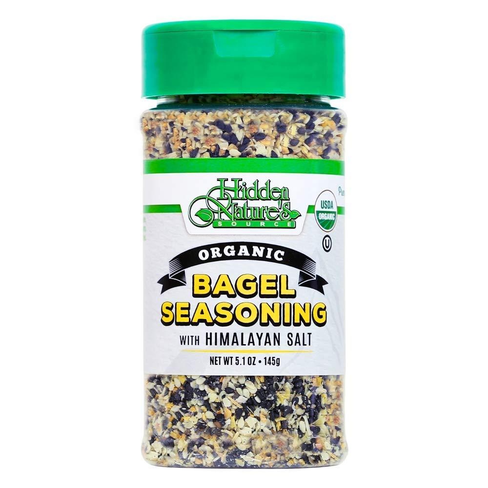 Organic Now on sale Everything Bagel Seasoning Blend: Ses Salt Ranking TOP12 Sea Himalayan