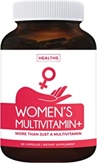Multivitamin for Women (Non-GMO) Daily Womens Multivitamin + Minerals for Energy Boost, Antioxidants, Hair & Eye Health - ...