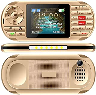 Lesgos Handheld Game Console, 2 in 1 Portable Video Game Console and Mobile Phone with Built in 400 Classic Games, 2.8-Inch Color Screen, Support for Dual SIM Cards for Kids, Adults
