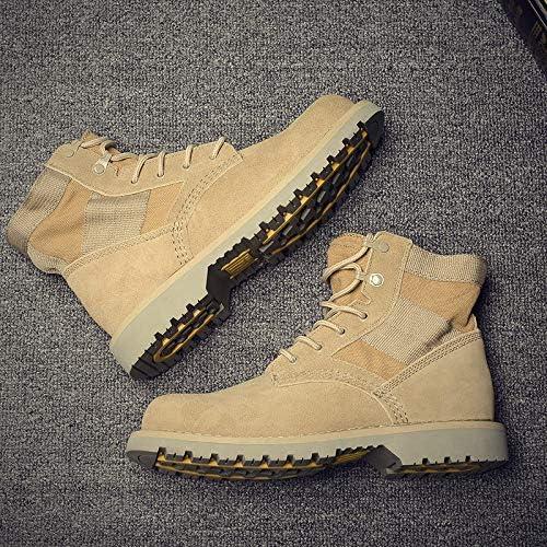 Shukun Bottes pour hommes Couple Martin bottes, Chaussures d'outillage polyvalentes, Modèles de Couple, Tube Court pour Homme