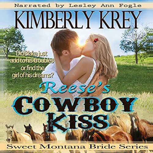 Reese's Cowboy Kiss: Witness Protection audiobook cover art