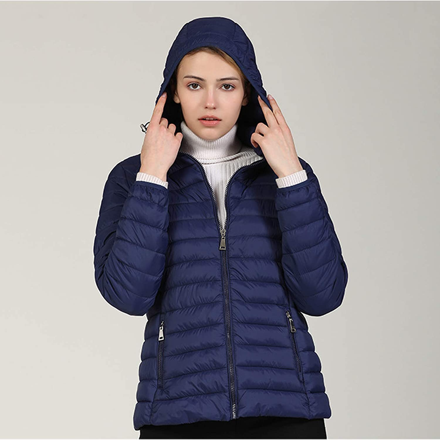 ZhaoZC Spring and Autumn Don't miss the campaign Limited time cheap sale Short Lightweight Women's Jacket Padded