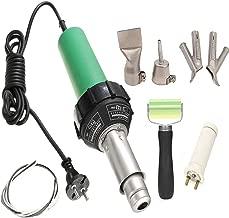 elemento riscaldante per ugello velocit/à 220V EGK-Tool 1600W Pistola ad aria calda per saldatura professionale per saldatore in plastica kit per pistola a saldatore ad aria calda in PVC vinilico