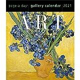 2021 The Metropolitan Museum of Art 365 Days Gallery Desk/Boxed Calendar with Italian Pen (TM)