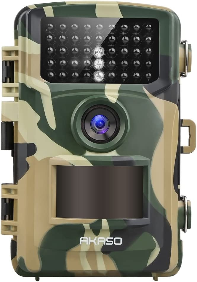 AKASO Seattle Mall Trail Camera Factory outlet 14MP 1080P Vision IP66 Wate Game Night
