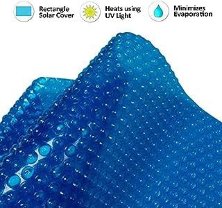 . INTERNATIONAL COVER POOL Cubierta Piscina Verano GeoBubble 500 micras Energy Guard para Piscinas de 2x2 Metros con Refuerzo en los Dos Laterales Estrechos