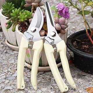 YOROO Ergoline - Juego de tijeras de jardín premium para casa, balcón y patio. Contiene tijeras Ergotrim para flores Ergocut Ergonomish, resistente, afilado