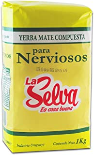 comprar comparacion Yerba Mate Compuesta Para Nerviosos La Selva 1000 G.