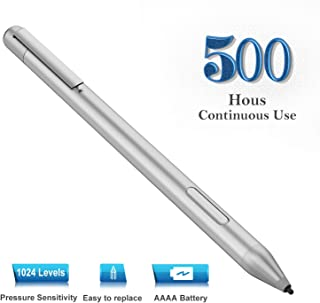 Stylus Digital Pen for HP Spectre x360 12-c0xxx 13-ac0xx 13-ac0xxx 13-ae0xx 13-aexxxx 15-bl0xx 15-blxxx 15-ch0xx 13-AE011DX 15-BL112DX 15-BL152NR x2 12-c0 with 1024 Levels of Pressure Sensitivity