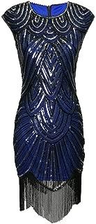 Long Jazz Era Flappers Great Gatsby Costume Dress Style in 1920's Women