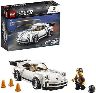 مجموعة بناء سيارة سبيد تشامبيونز بورش 911 مزودة بمحرك توربيني 3.0 ومسارات فورزا هورايزون 4 من ليغو 75895، مناسبة لعمر ما ف...