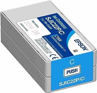 Epson TM-C3500 Cyan Ink Cartridge SJIC22P(C)