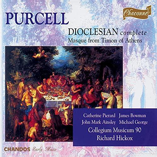 Richard Hickox, Collegium Musicum 90, Catherine Pierard, James Bowman, John Mark Ainsley, Mark Padmore, Ian Bostridge & Michael George
