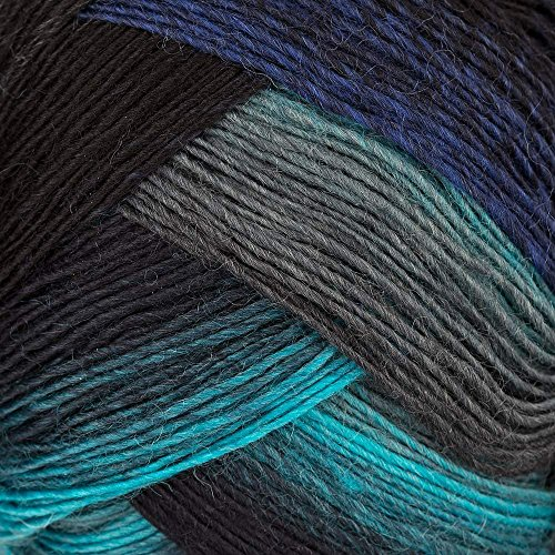 Lang Yarns 100 g Sockenwolle Jawoll Magic Degradé 4-fädig, Fb. 25