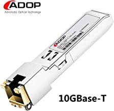 SFP+ to RJ45 Copper Module - 10GBase-T Transceiver for Cisco SFP-10G-T-S, Ubiquiti, Netgear, D-Link, Supermicro, TP-Link, Broadcom, Linksys, Avago, up to 30m
