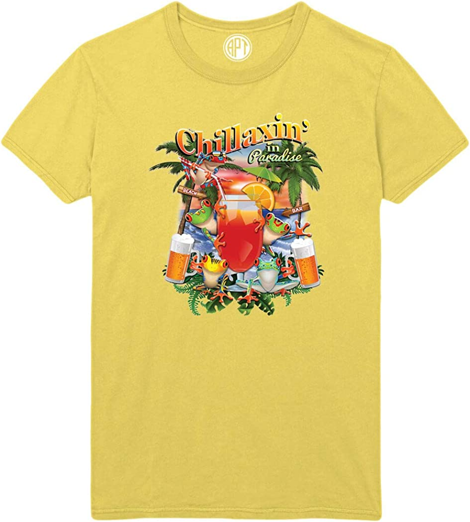 Chillaxin in Paradise Printed T-Shirt