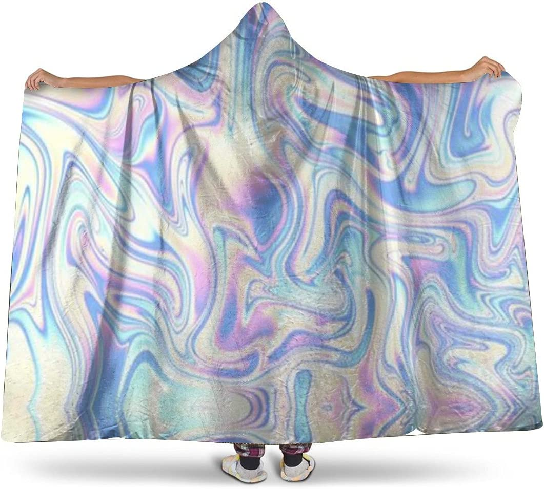 Colorful Soap Bubble Tucson Mall Super Soft Online limited product Microfibe Flannel Blanket Hooded