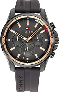 Tommy Hilfiger Men's Analogue Quartz Watch with Silicone Strap 1791792