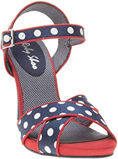 RUBY SHOO Evie Womens Sandals Navy