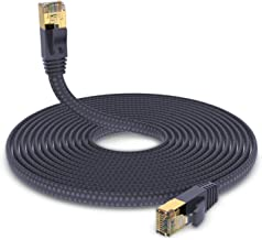 Cat 7 Ethernet Cable, Hymeca Nylon Braided Cat 7 Cable 3...