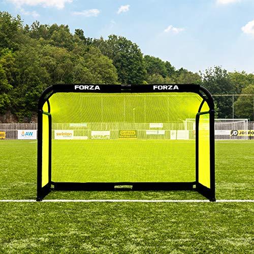 FORZA Fußballtor - Aluminium POD faltbares Fussball-Tor - EIN hochwertiges und stabiles Tor (1,8m x 1,2m)