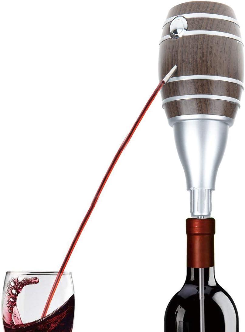 TOKUYI® Mini Escanciador de Vino De Sidra Eléctrico Tonel, varilla telescopic, nueva bomba de gran capacidad y durabilidad