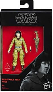 Star Wars 2017 The Black Series Resistance Tech Rose (The Last Jedi) Action Figure 3.75 Inches