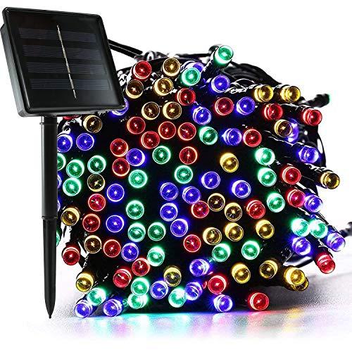 jar-owl Solar String Lights Outdoor Waterproof 72FT 200 LED...