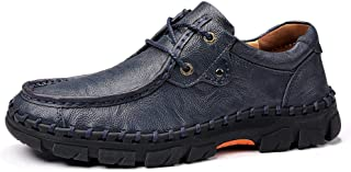 LUKEEXIN Men's Shoes, Leather Men's Shoes, Casual Shoes