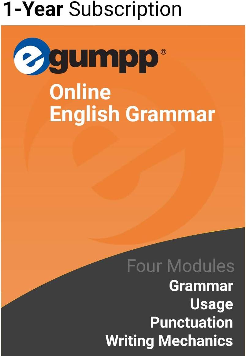Elegant EGUMPP: Online English Grammar act Subscription Classic 1-Year Program