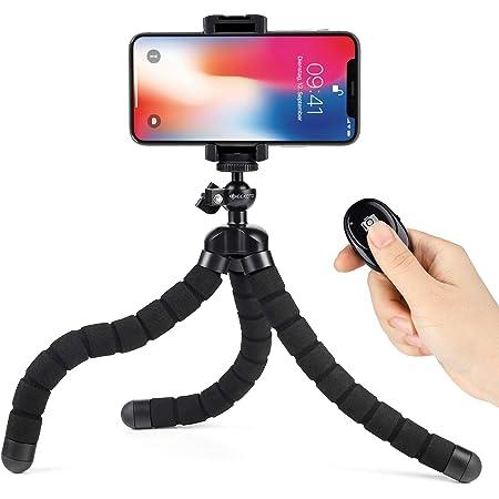 Geekoto Octopus Mobile Phone Tripod Flexible Camera Photo