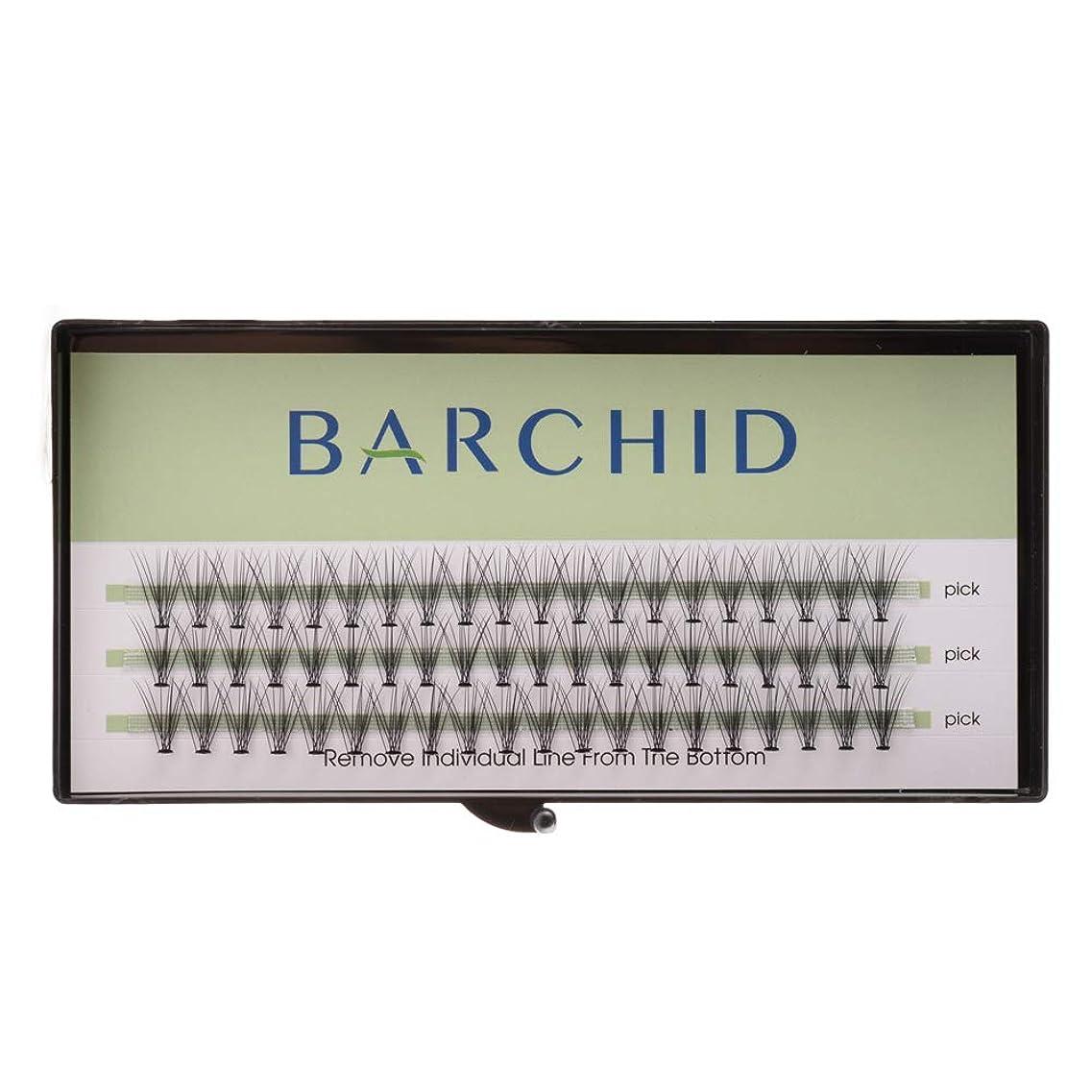 攻撃タイヤ著作権BARCHID 高品質超極細まつげエクステ太さ0.07mm 10本束10mm Cカール フレア セルフ用 素材  マツエク