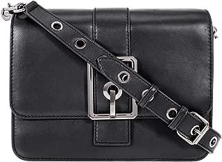 Rebecca Minkoff Hook Up Ladies Medium Black Leather Shoulder Bag HSP7GHUX24-001