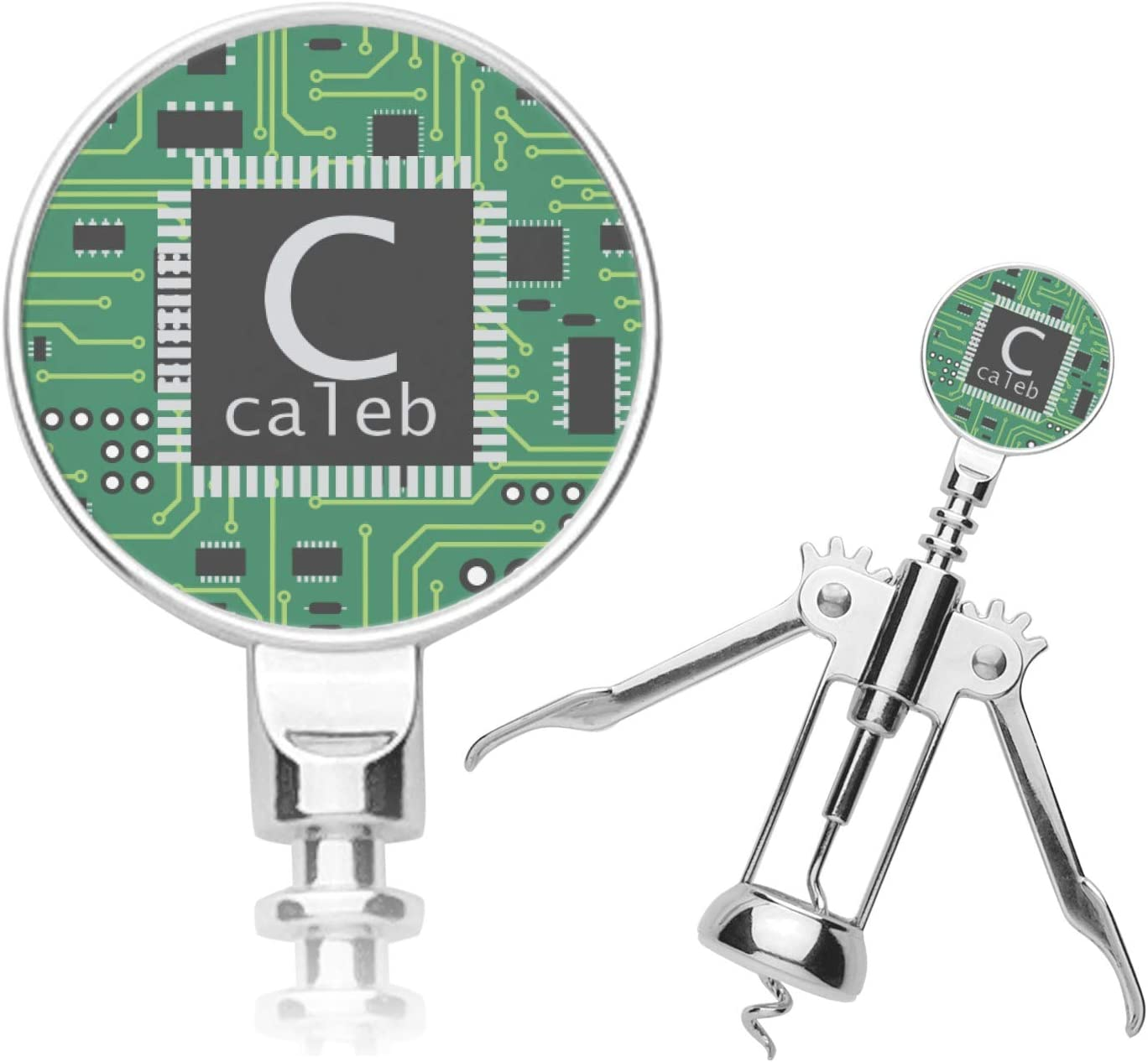 Circuit Board half Personalized Corkscrew Directly managed store