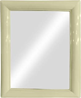 BAAL Plastic Wall Mirror (White)