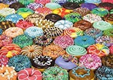 1000 Piece Puzzle for Adults - Difficult Donuts Jigsaw Puzzle