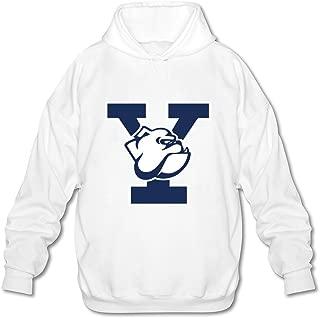 JeFF Men's Yale University Long Sleeve Sweatshirt Hoodies (US Size)