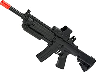 Evike - Pump Action Mini Spring Powered Airsoft M4 Rifle (Color: Black)
