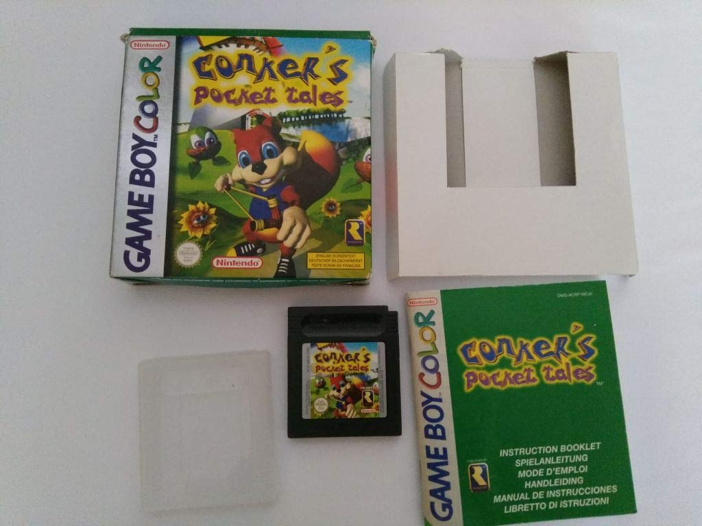 Max 76% OFF Conker's safety Pocket Tales Color - GameBoy