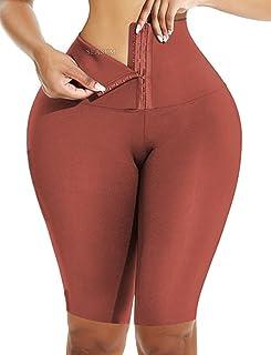عالية الخصر ملابس داخلية طماق للنساء قابل للتعديل البطن التحكم الخصر الجسم المشكل اليوغا السراويل Cincher مشد الجوارب