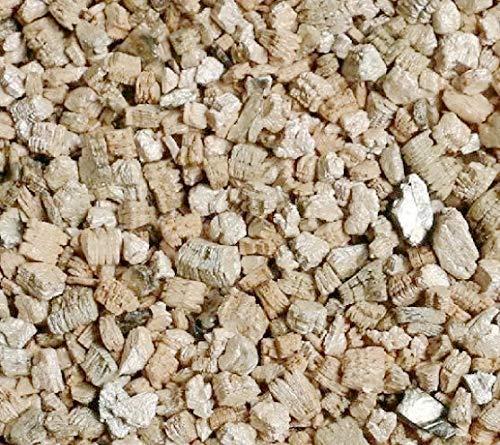 RunTo Vermiculit Granulat Gaskamin Leuchtende Glut Steinwolle für Gasscheite 170 g