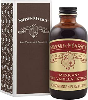 Nielsen-Massey Mexican Pure Vanilla Extract, with Gift Box, 4 ounces